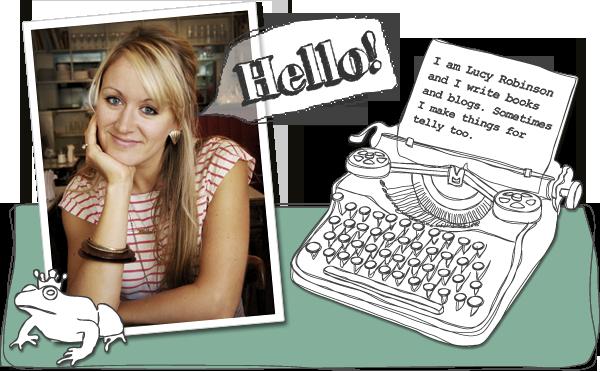 Lucy Robinson - Author, Blogger, TV Producer