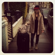 Robinson setting off for NYC