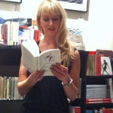 Lucy Robinson BRAVELY READING. Copyright Lucy Robinson blog