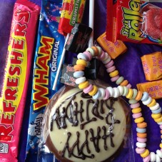 Lucy Robinson birthday sweets